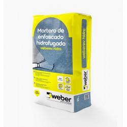 WEBER REVESTIMIENTO HIDROFUGADO BLANCO 25 KG