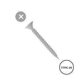 TORNILLO PLACO TTPC 25 MM
