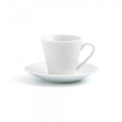 SET DE 6 TAZAS DE CAFÉ BLANCAS -  RENOVA QD