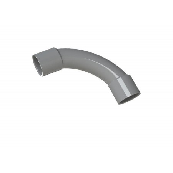 TUBO CURVA PVC GRIS 25MM