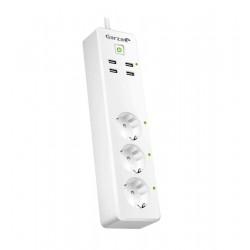 BASE MÚLTIPLE 3 TOMAS Y 4 USB SMART WIFI - GARZA