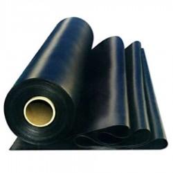 LÁMINA DE PVC NEGRA 1,50X20X1,2M