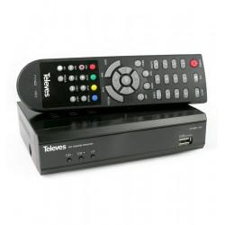 RECEPTOR DE SATÉLITE DIGITAL DVB-S/S2 - TELEVÉS