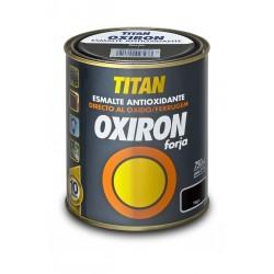 PINTURA OXIRON FORJA AGUA GRIS ACERO 750ML TITAN