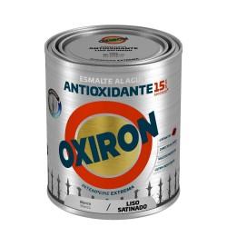 PINTURA OXIRON LISO SAT.AGUA ROJO CARR.750ML TITAN