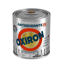 PINTURA OXIRON LISO SAT.AGUA NEGRO 750ML TITAN