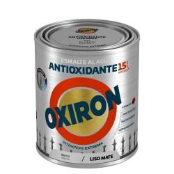 PINTURA OXIRON LISO MAT.AGUA ROJO CARR. 750ML