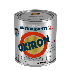 PINTURA OXIRON LISO MAT.AGUA NEGRO 750ML