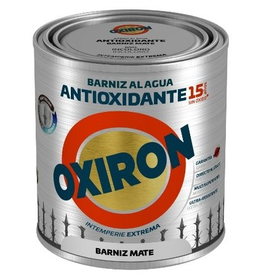 BARNIZ OXIRON ANTIOX. AGUA MATE 750ML TITAN