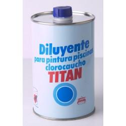 DISOLVENTE PISCINAS 1L TITAN