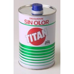 DISOLVENTE SIN OLOR 1L TITAN