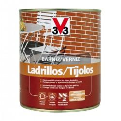 BARNIZ LADRILLO INCOLORO MATE 0,75L V33