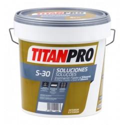 PINTURA TITAN PRO S30 IMP.FIJAD.SILOXANO BLANCO 4L