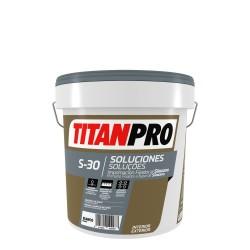PINTURA TITAN PRO S30 IMP.FIJAD.SILOXANO BLANC 10L