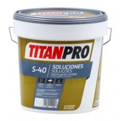 PINTURA TITAN PRO S40 HIDROFUGANTE INV.AGUA INC 4L