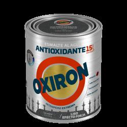 PINTURA OXIRON LISO EF.FORJA AGUA NEGRO 2,5L TITAN
