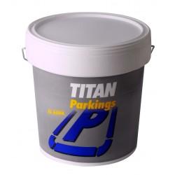 PINTURA PARKING VERDE 15L TITAN