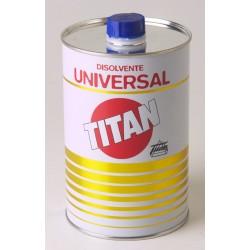 DISOLVENTE UNIVERSAL 5 LITROS TITAN
