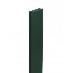 "PERFIL PVC ""H"" 2M VERDE - NORTENE"