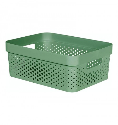 CESTA VERDE INFINITY RECYCLED 11L - CURVER