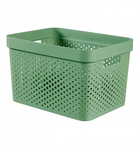 CESTA VERDE INFINITY RECYCLED 17L - CURVER