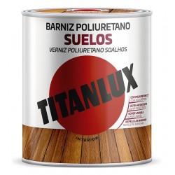 BARNIZ SATINADO PARA SUELOS 4L - TITAN