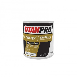PINTURA TITAN PRO GRIS PE.COLORLUX SAT.C/P. 750ML