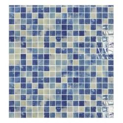 MOSAICO VITREO BLUESTONE BLEND 2,5X2,5 M2 - ONIX