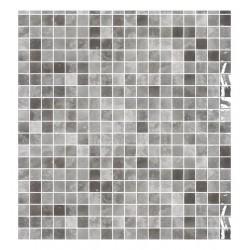 MOSAICO VITREO QUARTZ GREY 2,5X2,5 M2 - ONIX