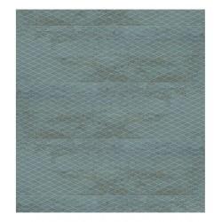 C.29,75X99,55 METALLIC GREEN PLATE (M2) APARICI