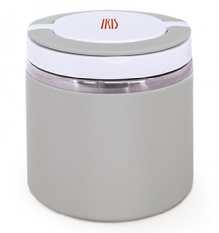 TERMO LUNCHBOX GRIS INOXIDABLE 0,6L