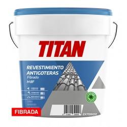PINTURA H8F FIBRADA ANTIGOTERAS ROJO INGLÉS 15L- TITAN