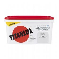 PINTURA TITANLUX COBERTURA T. GRIS HIELO 4L TITAN