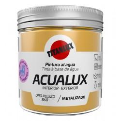 ACUALUX METAL ORO ROJIZO TITAN 75ML