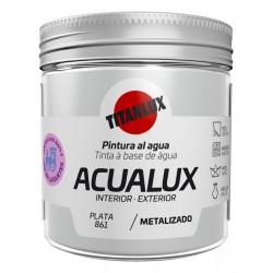 ACUALUX METAL PLATA TITAN 75ML
