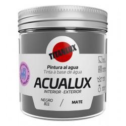 ACUALUX MATE NEGRO TITAN 75ML