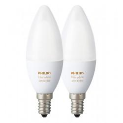 PACK BOMBILLAS LED REGULABLES E14 HUE -  PHILIPS