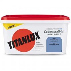 PINTURA TITANLUX COBERTURA T. AZUL CALI. 4L TITAN