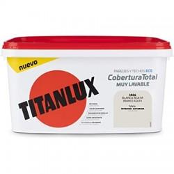 PINTURA TITANLUX COBERTURA T. BCO. AGATA 4L TITAN