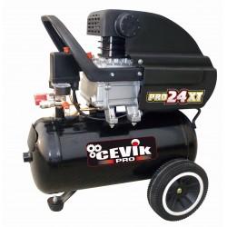 COMPRESOR 24L 2,5HP PRO24XT C/A - CEVIK