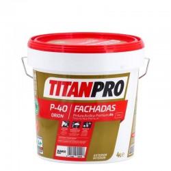 PINTURA TITAN PRO P40 BLC.MATE ACRI.PREMIUM A4 1L