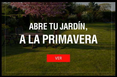 Abre tu jardín, A LA PRIMAVERA